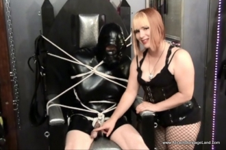 Bdsm rubber mistress